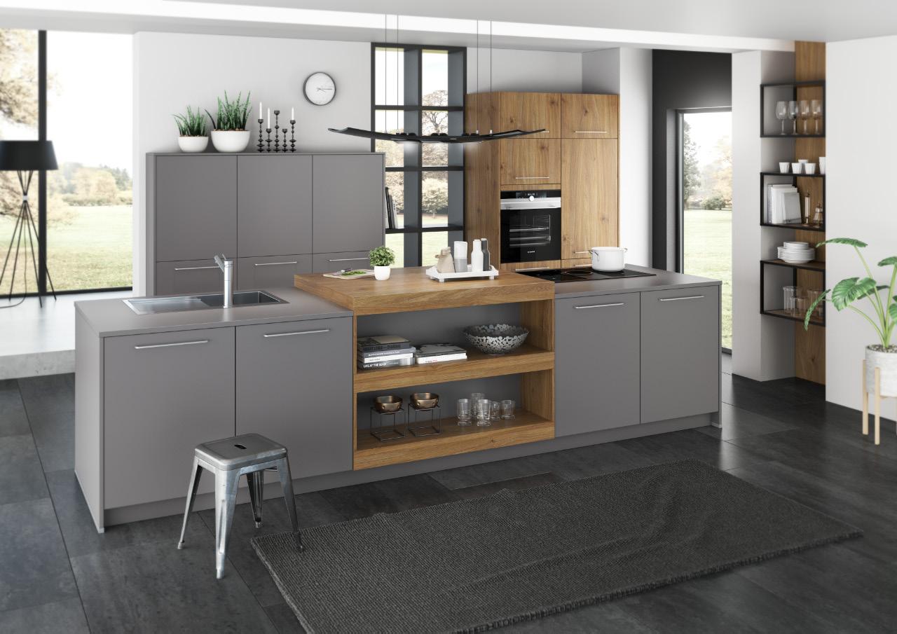 Modern und organisiert - Eine Einbauküche von Küchen-Kay Keding